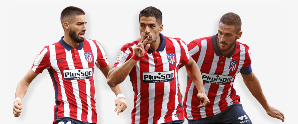 Plus500 Sponsor Atlético Madrid