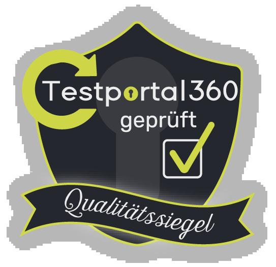 Testportal360 Qualitätssiegel