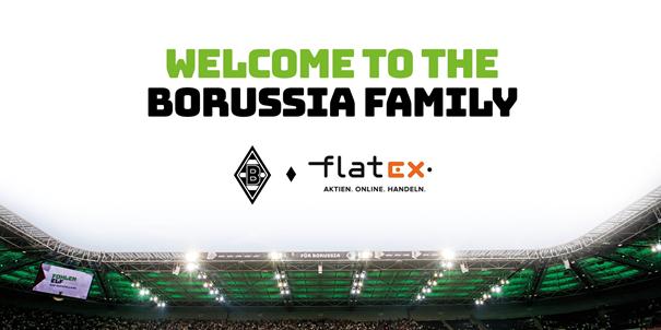 Flatex Test - Sponsoring Borussia