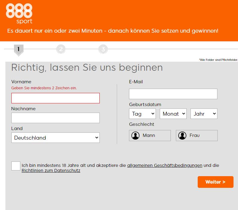 888sport Test und Erfahrungen 1